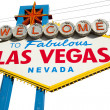 Welcome to Fabulous Las Vegas Sign — Stock fotografie #36470227