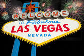 Famous Las Vegas Welcome Sign — Stockfoto