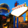 Welcome to Las Vegas Sign — Stock Photo #38859109