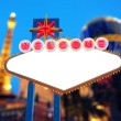 Welcome to Las Vegas Sign — Stock Photo #38859111