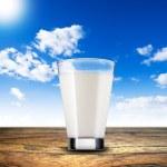 Glass of milk — Stock Photo #39698125