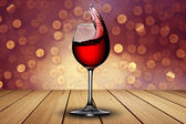 Wine splash — Foto de Stock