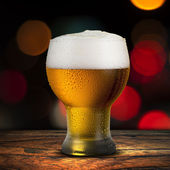 Glass of beer — Stock Photo