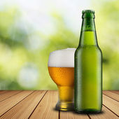 Bottle of beer — Stock Photo