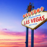 Las Vegas neon sign — Stock Photo #43448425