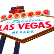 Las Vegas neon sign — Stock Photo