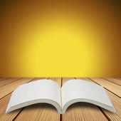 Book on table — Stockfoto