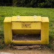 Grit container — Stock Photo