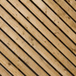 Wood diagonal panelling — Stock Photo