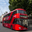 Modern London Bus — Stock Photo