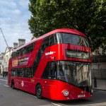 Modern London Bus — Stock Photo