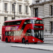 New London Bus — Stock Photo