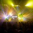 Lights and Lasers in a club — Stock Photo #29808789