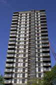 Run down tower block — Stock Photo