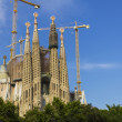Stock Photo: West facade of SagradFamília