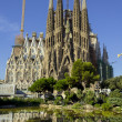 Stock Photo: SagradFamílieast facade