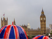 Rainy day in London — Stock Photo
