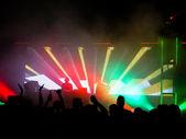 Clubbing scene — Stock Photo