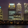 Canary Wharf in London — Stockfoto