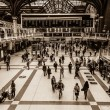 Liverpool Street in London — Stock Photo