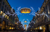 Regent Street Christmas lights 2013 — Stock Photo