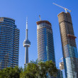 CN Tower and Condos — Stock Photo