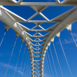 Humber Bridge arch closeup — Stock Photo #35212121