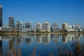 Modern condos from across Humber Bay — Stock Photo