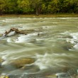 Rushing water on a river — Stock Photo