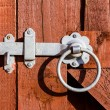 Stock Photo: Fence latch