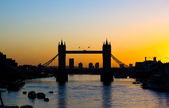 Tower Bridge at Sunrise — Stok fotoğraf