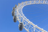 London Eye from the ground — Stock Photo