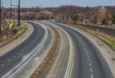 Gardiner Expressway with no traffic — Stock Photo