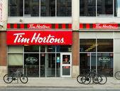 Tim Hortons Coffee Shop — Stock Photo