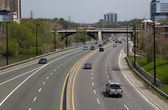 Don Valley Parkway — Stock Photo