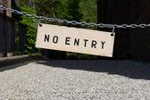 No hay señal de entrada — Foto de Stock