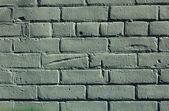 Green Bricks on a wall — Stock Photo