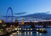 London Night Cityscape — Stock Photo