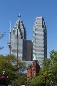 Td の塔や cn タワー、フラットアイアン — Stockfoto