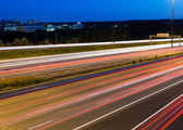 Side view of a motorway with copy space — Stock Photo