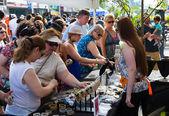 Jewellery stand at Taste of Danforth Toronto — Stockfoto