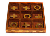 "Board game ""Tic-Tac-Toe""      — Foto de Stock"