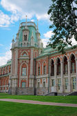 Tower of the royal palace in Tsaritsyno in Moscow — Foto de Stock