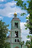 Igreja ortodoxa cristã do século xviii — Fotografia Stock
