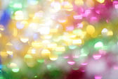 Bright multi-colored spots as abstract background — Stock Photo