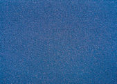 Texture of a blue synthetic waterproof fabric closeup — Stock Photo