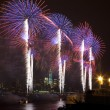 The July 4th firework over Hudson River in New York City — Stock Photo #29076977