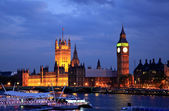 Big Ben and Westminster at night — Stock Photo