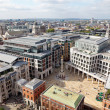 London city view from the top of St. Paul Cathedral — Stock Photo #29362069