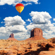Monument Valley Navajo Tribal Park in Utah — Stock Photo
